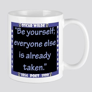 Be Yourself - Wilde 11 oz Ceramic Mug