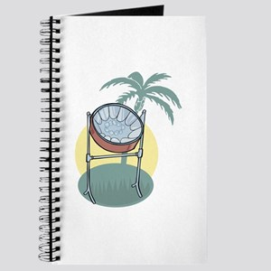 Steel Drum and Palm Tree Journal