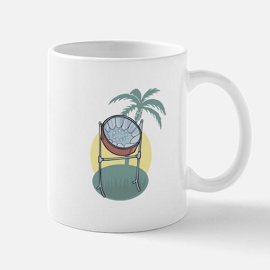 Steel Drum and Palm Tree Mug