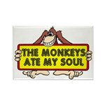 The Monkeys Ate My Soul Rectangle Magnet