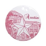 Austin Ornament (Round)