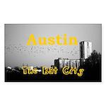 Austin Sticker (Rectangle 10 pk)