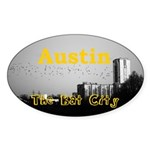 Austin Sticker (Oval 50 pk)