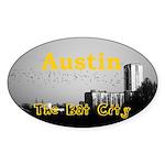 Austin Sticker (Oval 10 pk)