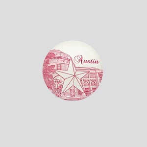 Austin Mini Button