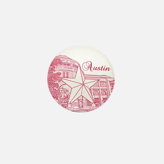Austin Mini Button