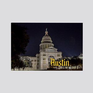 Austin Rectangle Magnet
