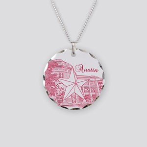 Austin Necklace Circle Charm