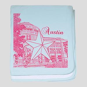 Austin baby blanket