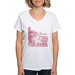 Austin Women's V-Neck T-Shirt