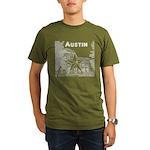 Austin Organic Men's T-Shirt (dark)