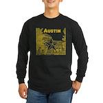 Austin Long Sleeve Dark T-Shirt