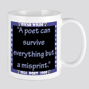 A Poet Can Survive Everything - Wilde 11 oz Cerami