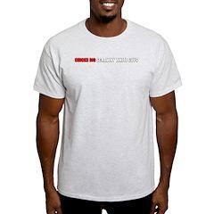 Chicks Dig Scrawny White Guys Ash Grey T-Shirt