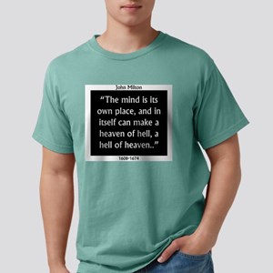The Mind Is Its Own Place - John Milton Mens Comfo