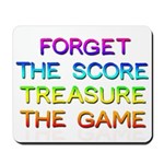Treasure The Game Mouse Pad