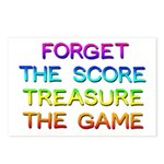 Treasure The Game Postcards (package Of 8)