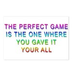 The Perfect Game Postcards (package Of 8)