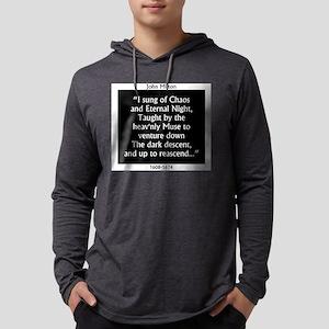 I Sung Of Chaos - Milton Mens Hooded Shirt