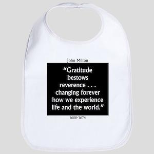 Gratitude Bestows Reverence - Milton Cotton Baby B