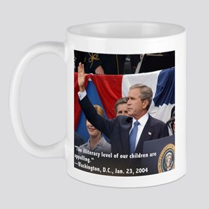 Illiterate Bush Mug