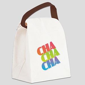 Cha Cha Cha Canvas Lunch Bag