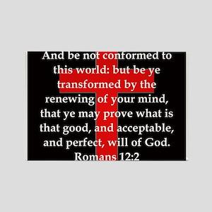 Romans 12-2 Magnets