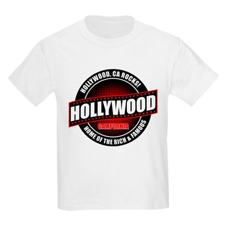 Hollywood, CA Rocks Kids T-Shirt