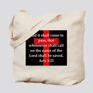 Acts 2-21 Tote Bag