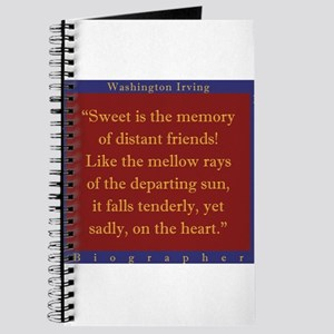Sweet Is The Memory Of Distant Friends - W Irving