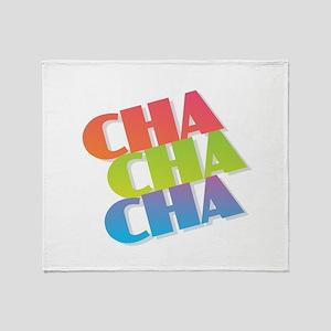 Cha Cha Cha Throw Blanket