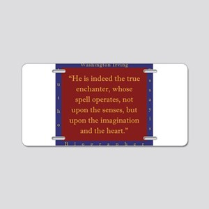 He Is Indeed The True Enchanter - W Irving Aluminu
