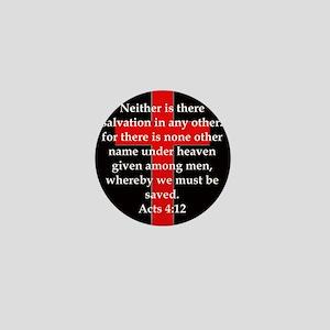 Acts 4-12 Mini Button