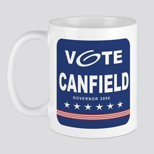 Vote Ken Canfield Mug