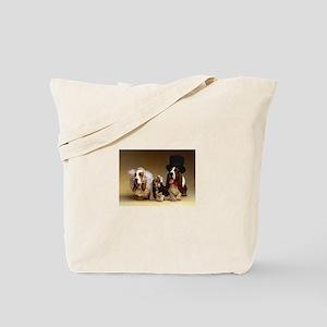 Basset Wedding Tote Bag