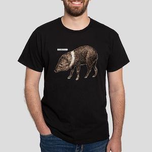 Collared Peccary Animal Dark T-Shirt