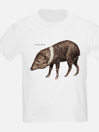Collared Peccary Animal T-Shirt