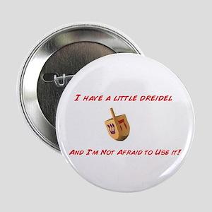 Chanukah Dreidel Button