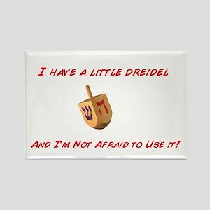 Chanukah Dreidel Rectangle Magnet