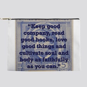 Keep Good Company - Alcott Makeup Pouch