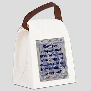 Keep Good Company - Alcott Canvas Lunch Bag