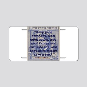 Keep Good Company - Alcott Aluminum License Plate