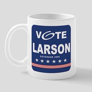 Vote Jerry Larson Mug
