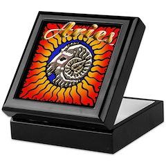 Aries Logo Keepsake Box
