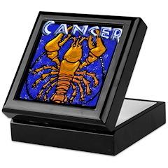 Cancer Logo Keepsake Box