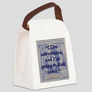 I Like Adventures - Alcott Canvas Lunch Bag