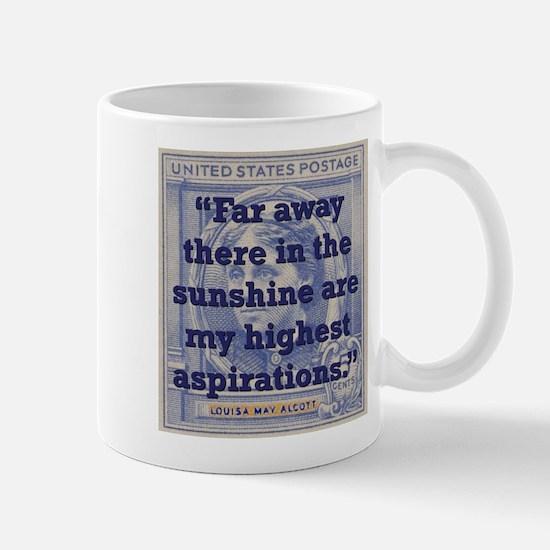 Far Away There In The Sunshine - Alcott Mug