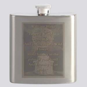 To See A World In a Grain Of Sand - W Blake Flask