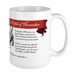 Large Remember Your Guy History Mug