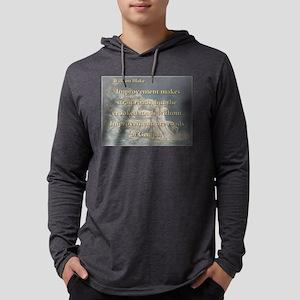 Improvement Makes Strait Roads Mens Hooded Shirt